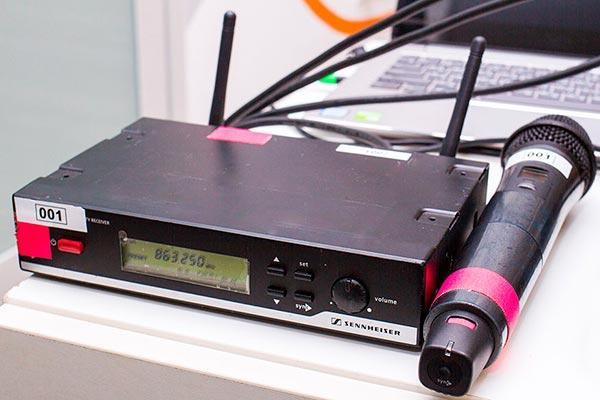 Аренда радиомикрофона синхайзер