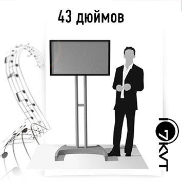 Аренда телевизора 43 дюйма в Москве